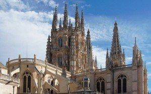Catedral de Santa María en Burgos.