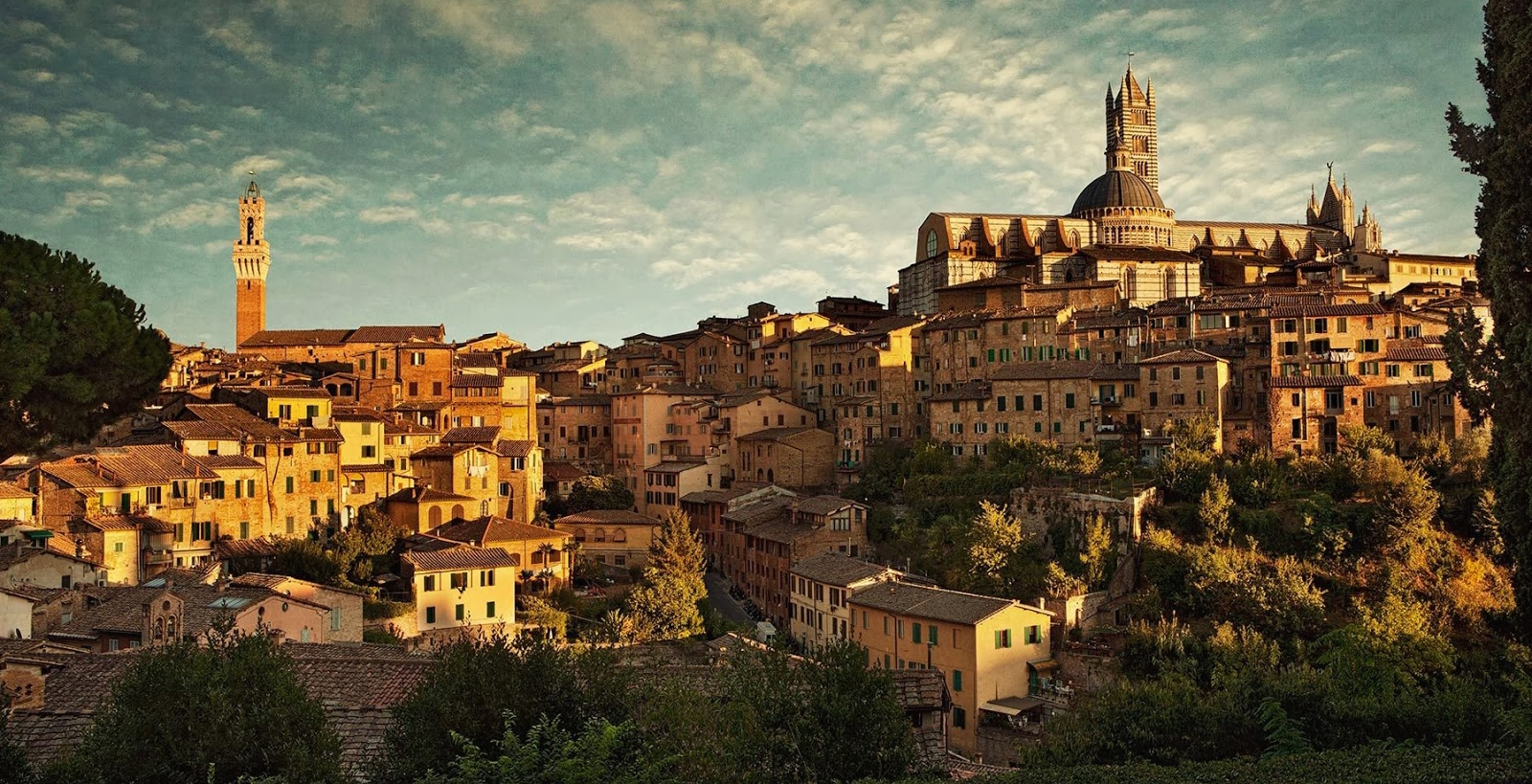 Via Francigena—Crossing Tuscany