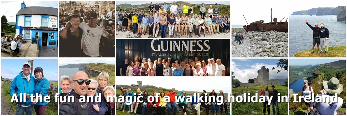 Walk and Experience the Spirit of Ireland